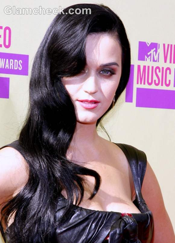Katy Perry hairstyle 2012 MTV Video Music Awards