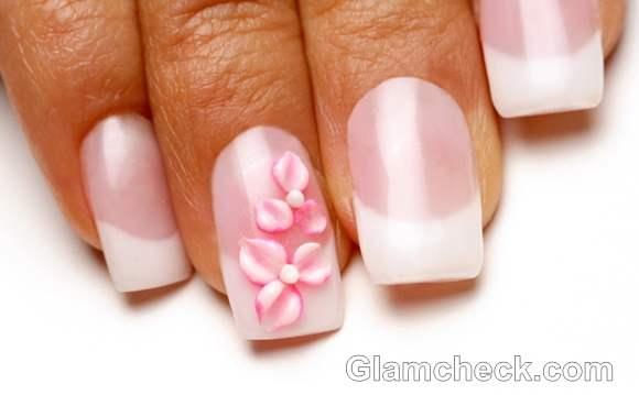 Pink nail art-4