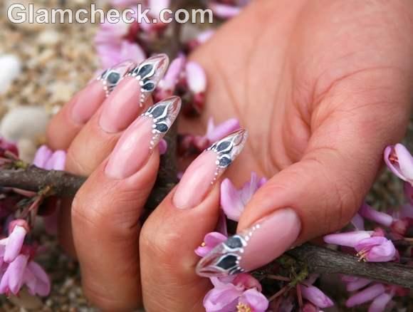 Pink nail art-6