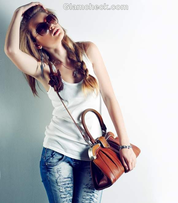 Rock the look uber cool in college