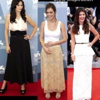 Style inspiration wearing long skirts