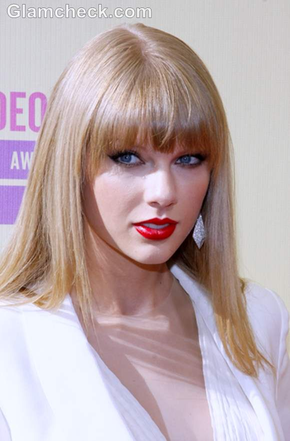 Taylor Swift hairstyle 2012 MTV Video Music Awards