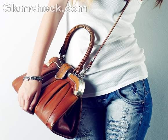 college handbag