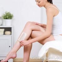 home waxing precautions