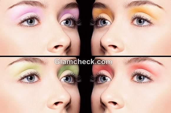 neon eye shadows