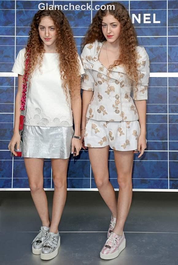Abu Khadra Sisters Paris Fashion Week 2013