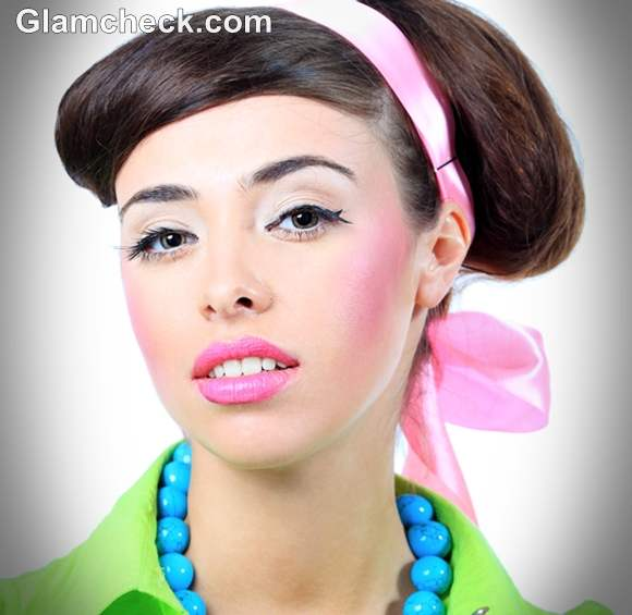 60s style makeup and hair retro hairstyles and makeup looks how to 4856