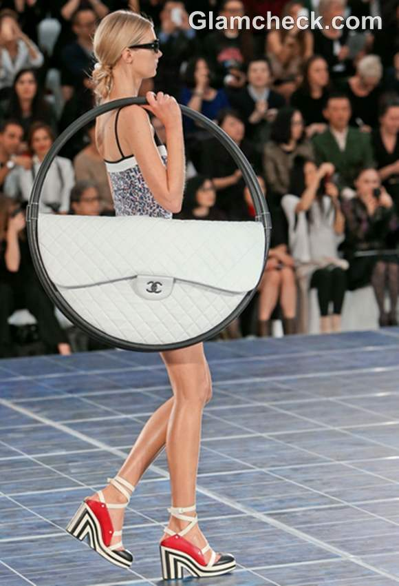 Chanel S-S 2013 Paris Fashion Week hoop bags