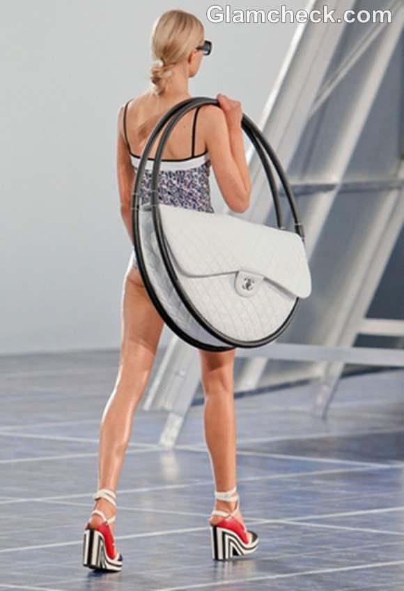 Chanel S-S 2013 hoop bags Paris Fashion Week