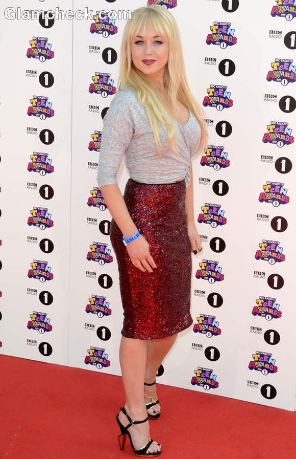 Jorgie Porter 2012 Teen Choice Awards