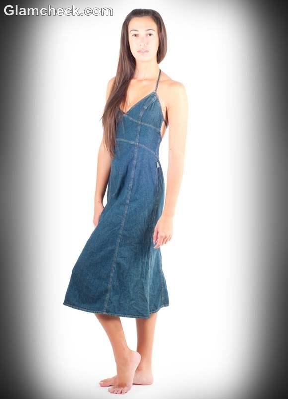 denim dress for daily wear