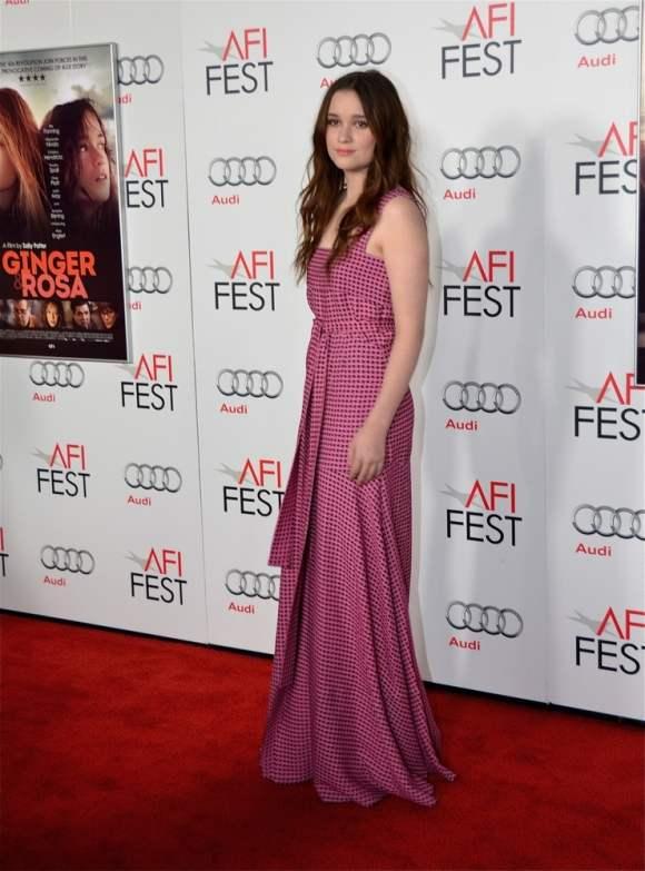 Alice Englert at AFI Fest