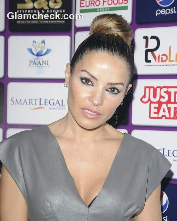 Elen Rivas at British Curry Awards 2012
