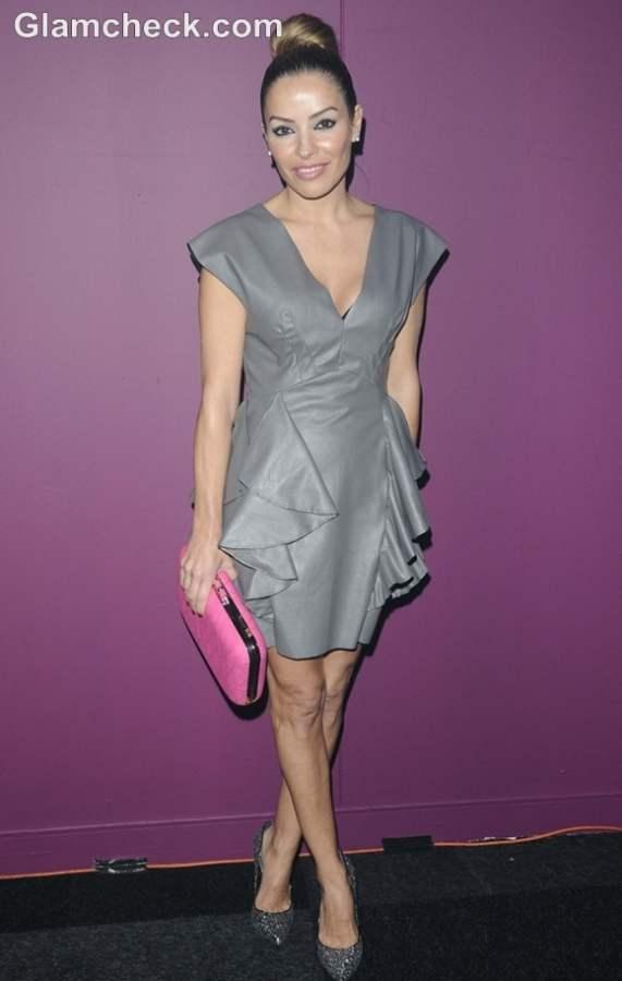 Elen Rivas dress at British Curry Awards 2012
