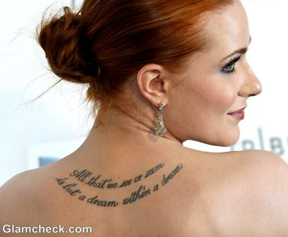 The Meaning Behind Your Favorite Celebrity Tattoos