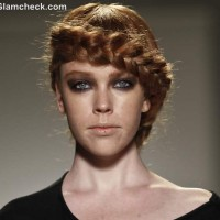Jackie Fraser-Swan Spring Summer 2013 Messy Milkmaid Braid Bold Smokey Eyes