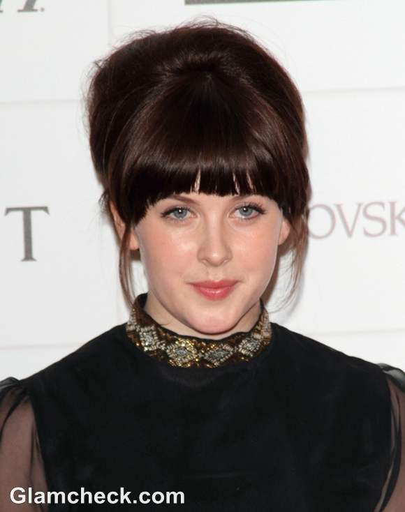 Alexandra Roach Voluminous Hair at Moet Film Awards 2012