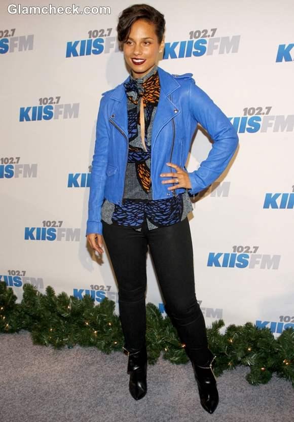Alicia Keys 2012 Jingle Ball Night 2