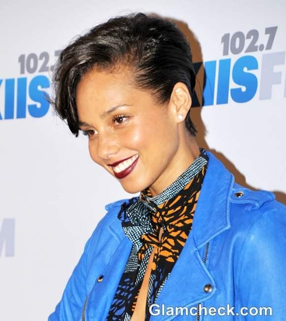 Alicia Keys 2012 hairstyle