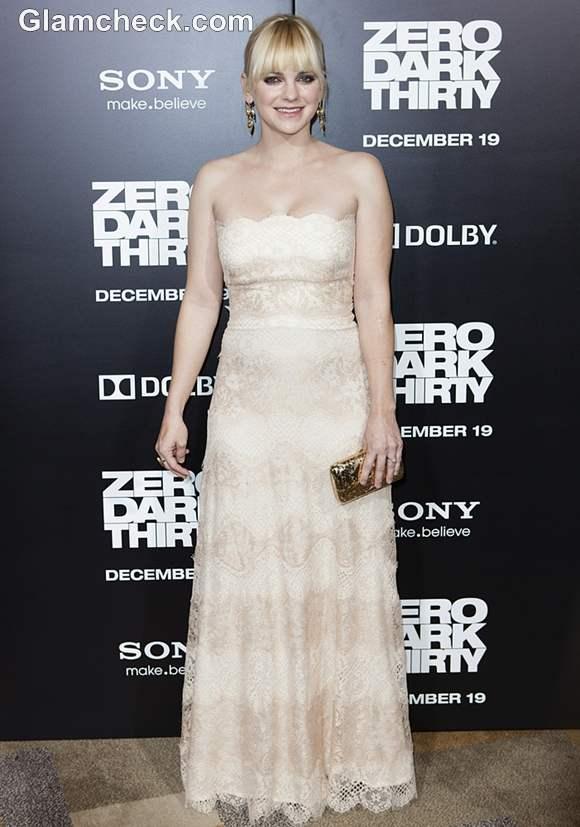 Anna Faris at Zero Dark Thirty LA Premiere