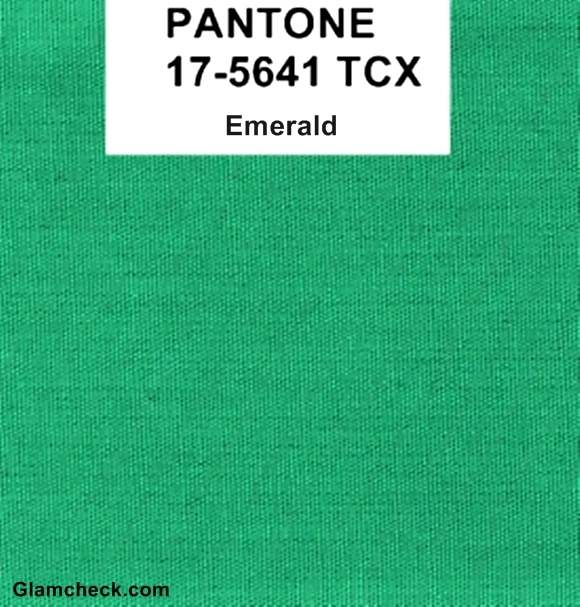 Emerald is Pantone Color of the Year 2013