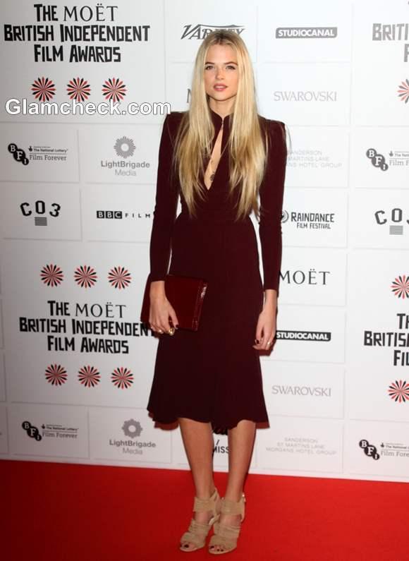 Gabriella Wilde 2012 Moet British Independent Film Awards