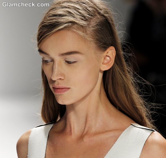 Hairstyle How To Spring Summer 2013 Side-Swept hair