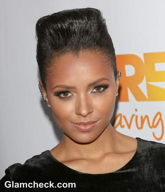 Kat Graham Hairstyle at Trevor Projects 2012 Trevor Live