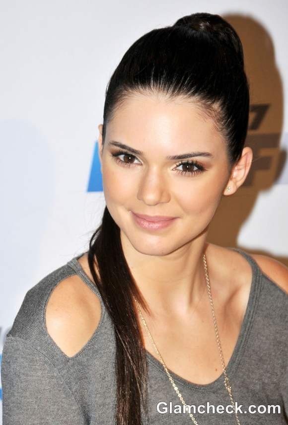 Kendall Jenner ponytail hairstyle