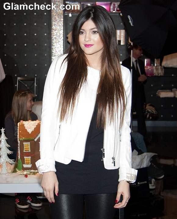 Kylie Jenner at Kardashian Khaos Visit