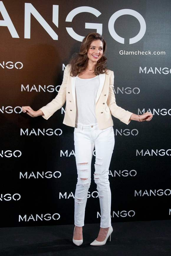 Miranda Kerr for Mango Debut Photocall