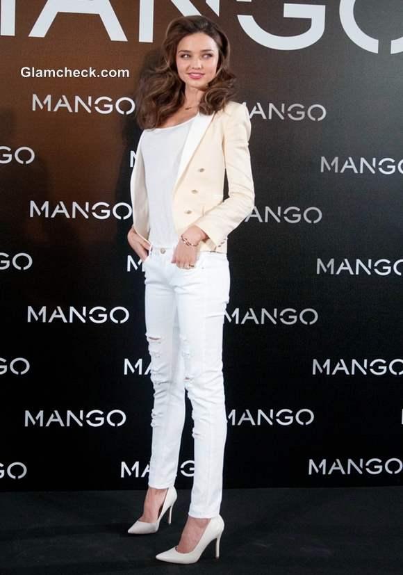 Miranda Kerr mango Debut Photocall