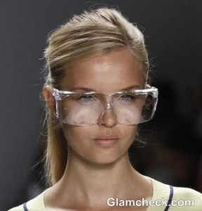 Style Pick of The Day: Oversized Eyeglass Frames from The Milly Collection S/S 2013