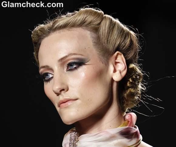 Venexiana Spring-Summer 2013 makeup hairstyle
