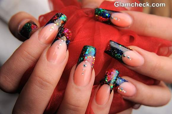 Christmas Nail Designs For Long Nails Papillon Day Spa