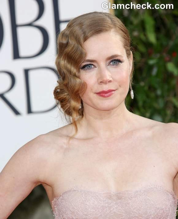 Amy Adams Hairstyle at 70th Anuual Golden Globe Awards