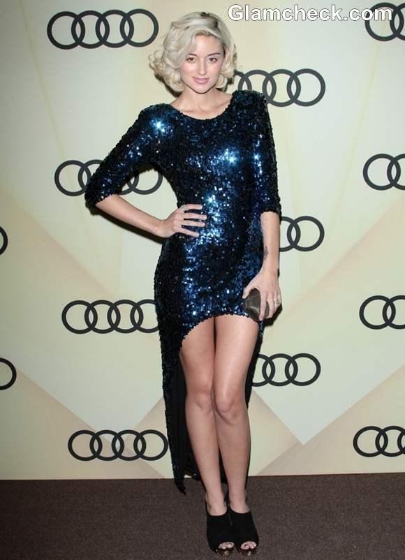 Caroline DAmore At The Golden Globes Kick-Off Party In LA