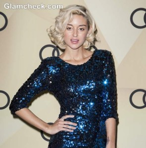 Caroline D' Amore At The Golden Globes Kick-Off Party In LA