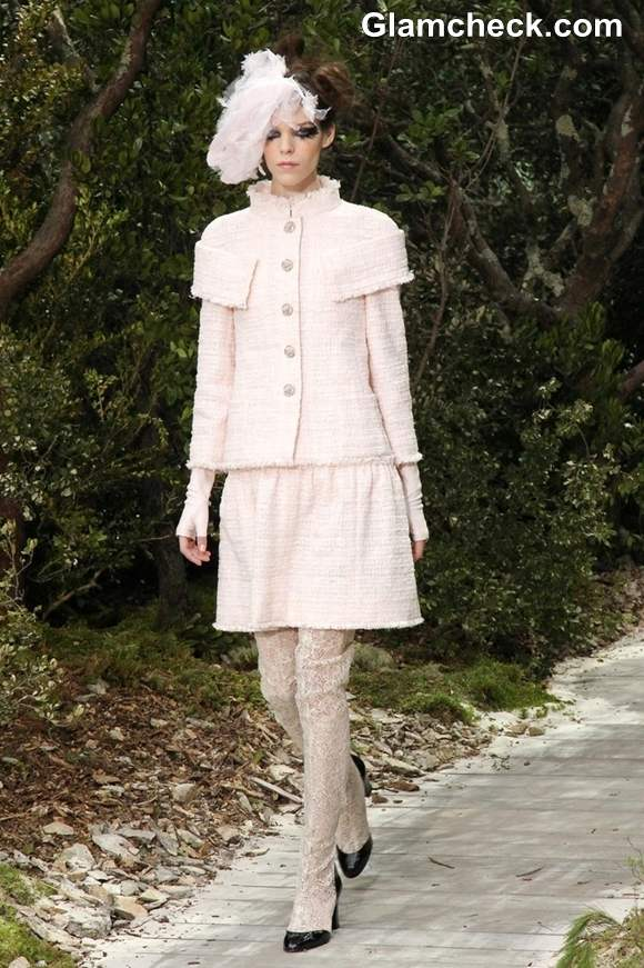 Chanel Haute-Couture S-S 2013 Paris Fashion Week