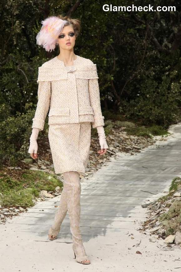 Chanel Haute-Couture S-S 2013 at Paris Fashion Week