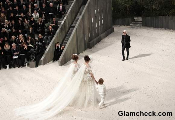 Chanel at Paris Fashion Week Haute-Couture S-S 2013