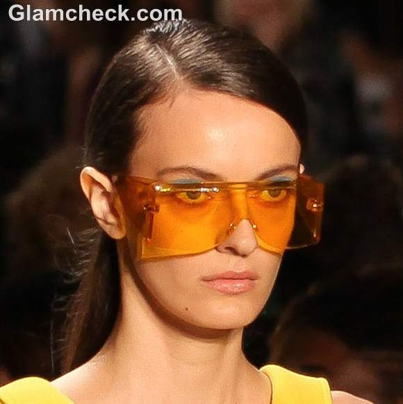 Colored Visor Sunglasses michael kors s- s 2013