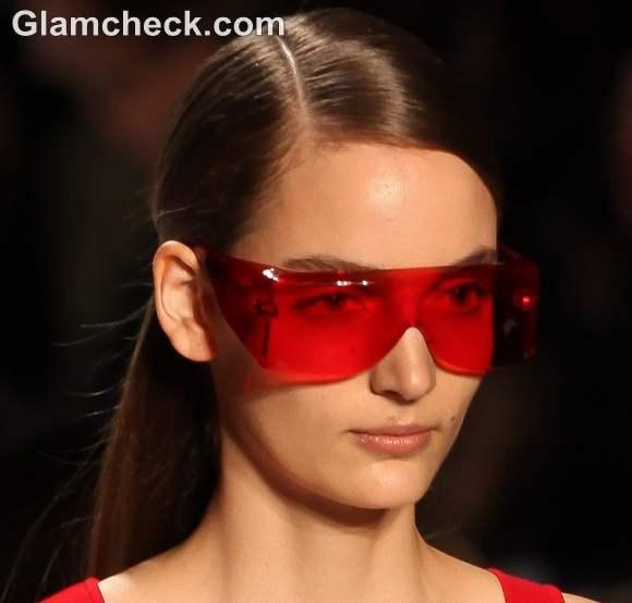 Colored Visor Sunglasses