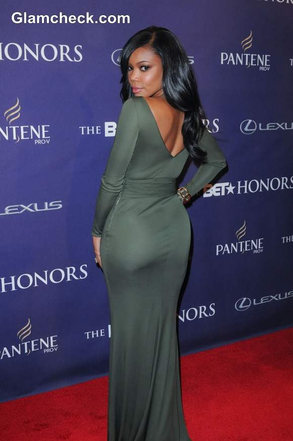 Gabrielle Union Shows Off Some Skin In Cutout Dress At Bet