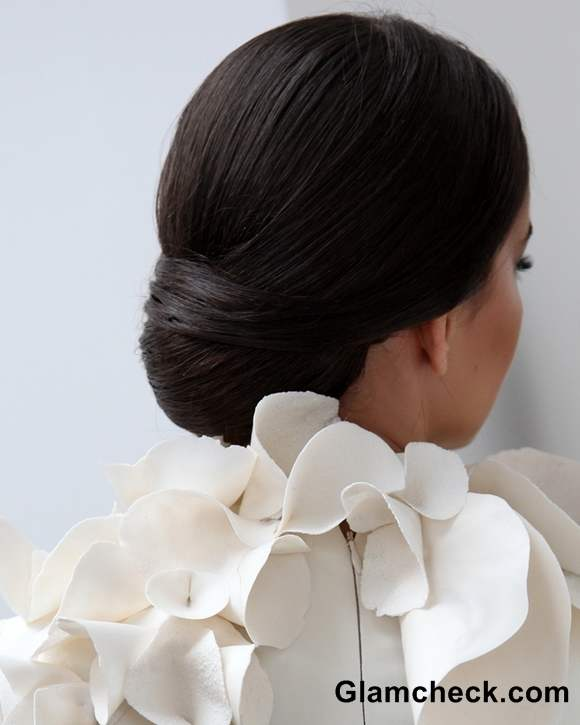 Hairstyles at Stephane Rolland show Paris Fashion Week S-S 2013
