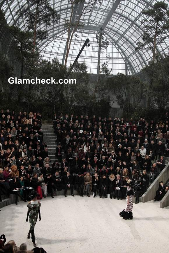 Haute-Couture S-S 2013 Chanel at Paris Fashion Week