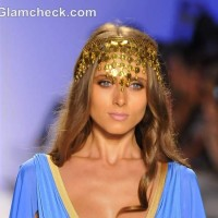 Head Ornaments at the Lisa Blue Swimwear 2013 Collection
