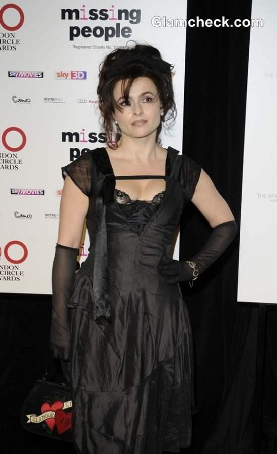 Helena Boham Carter 2013 Bags Lifetime Achievement Honour at London Awards Show