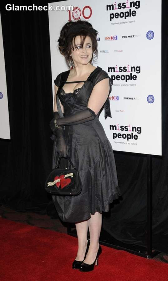 Helena Boham Carter 2013 Lifetime Achievement Honour London Awards Show