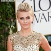 Julianne Hough Hairstyle at 70th Anuual Golden Globe Awards